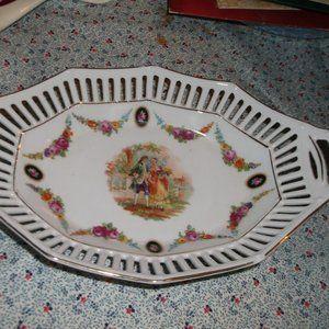 vintage china glass bowl signed germany